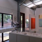 Interior of Purist Gallery yallingup 2012